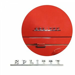 Vw Splitty Script Emblem Badge For Volkswagen Bug Beetle Bus Ghia Thing T1 T3 T4