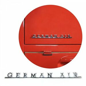 Vw German Air Script Emblem Badge For Volkswagen Bug Beetle Bus Ghia Thing T1 T4