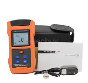 Fiber Optical Power Meter 70 6dbm 10mw 10km Cable Tester Visual Fault Locator