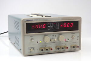 Tektronix Ps280 Dc Triple Outlet Power Supply