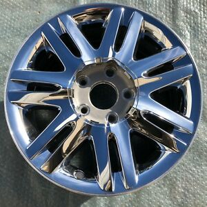 17 08 09 10 Chrysler Town And Country Factory Oem Wheel Rim Chrome Clad 2333