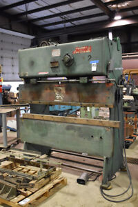 25 Ton X 6 Chicago 265 Press Brake Power Sheet Metal Bender