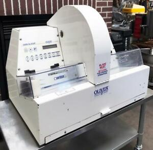 Oliver 2005 Bakery Restaurant Kitchen Equipment Varislicer Bread Slicer Cutter