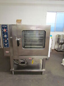 Alto Shaam 7 14mlgs Combitherm Natural Gas Oven With Stand Mfd 2008 Combi