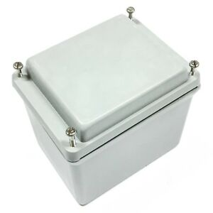 Hoffman A645jfgr Screw Cover Enclosure Gray Nema 4x 6 X 4 X 5