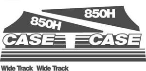 Whole Machine Decal Set For Case Crawler Dozer 850h Wide Track