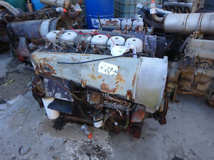 Deutz Bf6l913 Turbo Diesel Engine Runs Exc F6l913 Tractor Pump