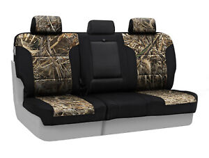 Coverking Camo Realtree Max 5 Custom Fit Rear Seat Covers For Gmc Sierra