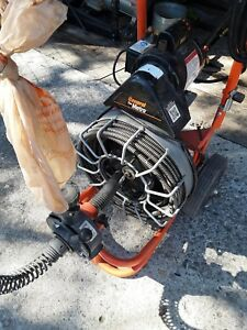 Plumbing Drain Snake Cleaner auto Feed 5 8 Cable X 50 75 Ft