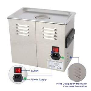 New Stainless Steel 3l Liter Industry Heated Ultrasonic Cleaner Cost effective
