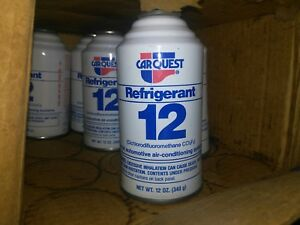 Carquest R12 Refrigerant 1x 12oz Can New Free Ship Shiny Full Stored Inside