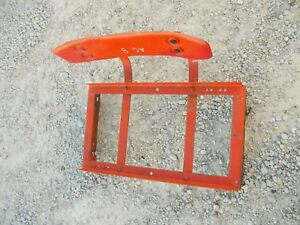 Allis Chalmers B Tractor Original Ac Deluxe Seat Assembly Back Rest