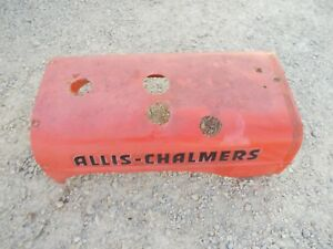 Allis Chalmers B Tractor Original Ac 4 Hole Engine Motor Hood Cover