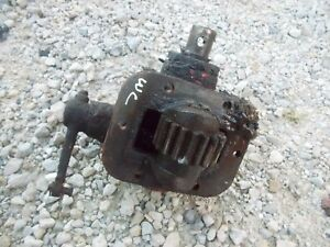 Allis Chalmers Styled Wc Tractor Origl Ac Pto Engagement Drive Gear Box Assembly