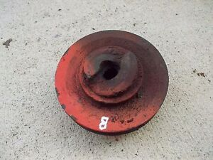 Allis Chalmers B Tractor Ac Engine Motor Main Front Crankshaft Crank Pulley