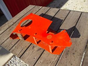 Allis Chalmers C Tractor Ac Shroud Cover Panel Tool Box