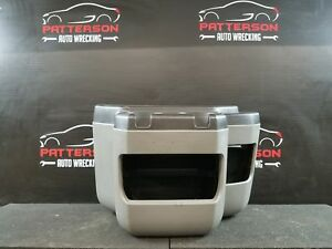 2009 Ford Van E250 Front Outer Section Cup Holder Center Console Medium Flint E