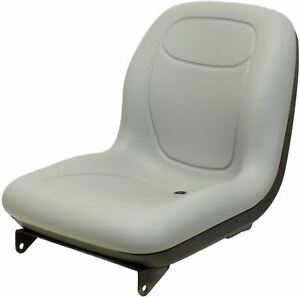 Ford New Holland Gray Boomer Seat Fits Tc25 Tc33 Tc35 2030 3040 T1510 See Notes