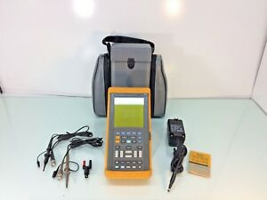Fluke 99 Scopemeter Series Ii 50mhz Tested