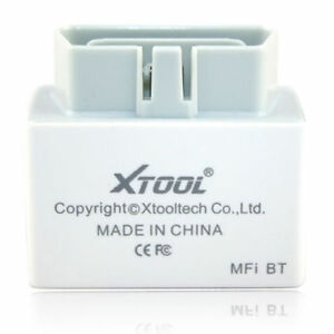 Xtool Bluetooth Obdii Obd2 Car Diagnostic Scan Tool Iobd2 Mfi For Iphone Ipad A