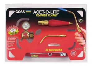 Goss Ka 1h Soldering Kit For Use With b Acetylene Tanks Economical Ba 3