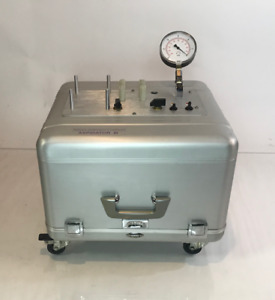 Wells Johnson Medical Vacuum Suction Aspirator 3 Iii Three Portable Pump System