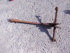 International Ih 100 130 Super A Tractor 1pt Fasthitch Farmall Hitch Arm Pocket