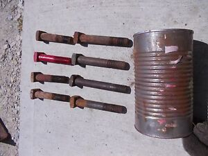 Farmall M 460 H 450 Sm 504 Tractor 8 Ih Square Headed Wheel Weight Bolts In out