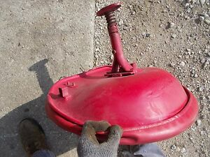 Mccormick Farmall Ih F12 F14 Tractor Seat Assembly Spring Metal Pan