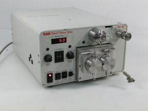 Bas Hplc Solvent Delivery System Pm 80 Gradient Pump Used