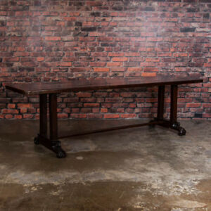 Antique Spanish Colonial Table From The Philippines