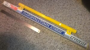 Marshalltown 3 Ft Ezyscreed With Level Concrete Cement Screed Leveling Float New