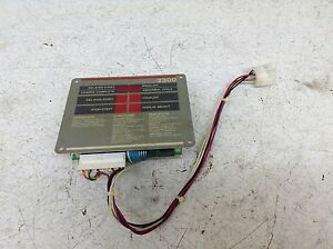 Tennant 2300 Mccc0360013 Battery Charger Control Pad tsc