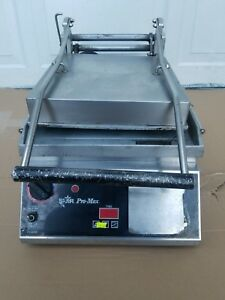 Star Pro max Cg14 Commercial Two sided Grooved Sandwich And Panini Grill
