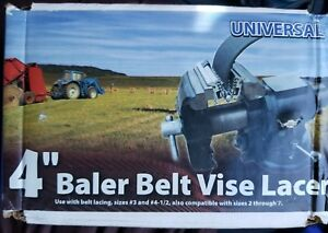 Universal 4 Clipper Baler Belt Vise Lacer R 4 New Fast Shipping
