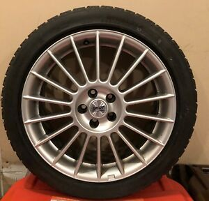 Blizzak Ws 50 225 45 R17 Set Of 4 W Wheels