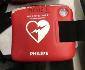 Philips Heartstart Onsite Defibrillator Aed With Infant Child Key And Battery