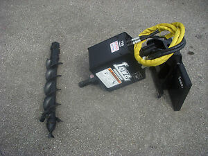 Toro Dingo Mini Skid Steer Attachment Lowe 750 Auger Drive 6 Bit Ship 199