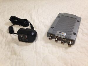 0417 001 01 Axis P7214 4 channel Video Encoder With Power Supply