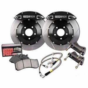 Stoptech Bbk For 2001 2007 Bmw M3 St 40 Calipers 355x32mm Slotted Rotors Front