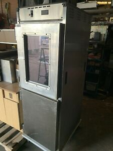 Cres Cor Heated Holding Cabinet Warmer Pass thru W windows Little Caesars Pizza