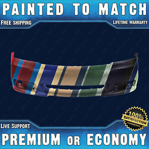 New Painted To Match Front Bumper Cover Replacement For 2011 2014 Dodge Avenger