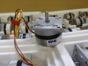 Lot Qty 3 X Ametek Mae Stepper Stepping Motor Nema 23 4 wire 44 Oz in Bipolar