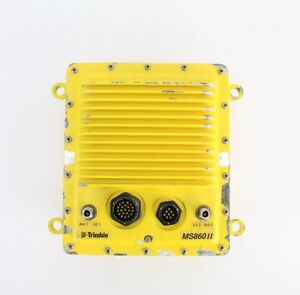 Trimble Ms860 Ii Dual Gps Rtk Receiver For Sitevision Marine Applications