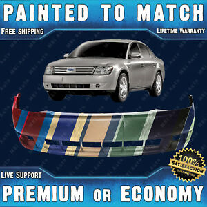 New Painted To Match Front Bumper Replacement For 2008 2009 Ford Taurus 3 5l V6