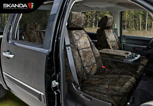 Skanda Coverking Realtree Xtra Camo Tailored Seat Covers For Chevy Silverado