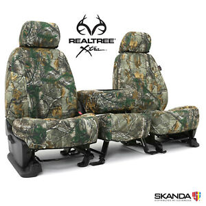 Skanda Coverking Realtree Xtra Camo Tailored Seat Covers For Ram Truck