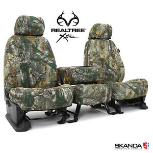 Coverking Realtree Xtra Camo Tailored Seat Covers For Ford F150 Made To Order