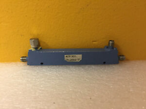 Midisco Mdc2044 20 0 5 To 2 Ghz 20 Db Sma f Coax Directional Coupler Tested