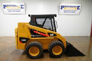 Cat 226b3 Skid Steer Wheeled Loader 61hp Manual Quick Connect Pilot Controls
